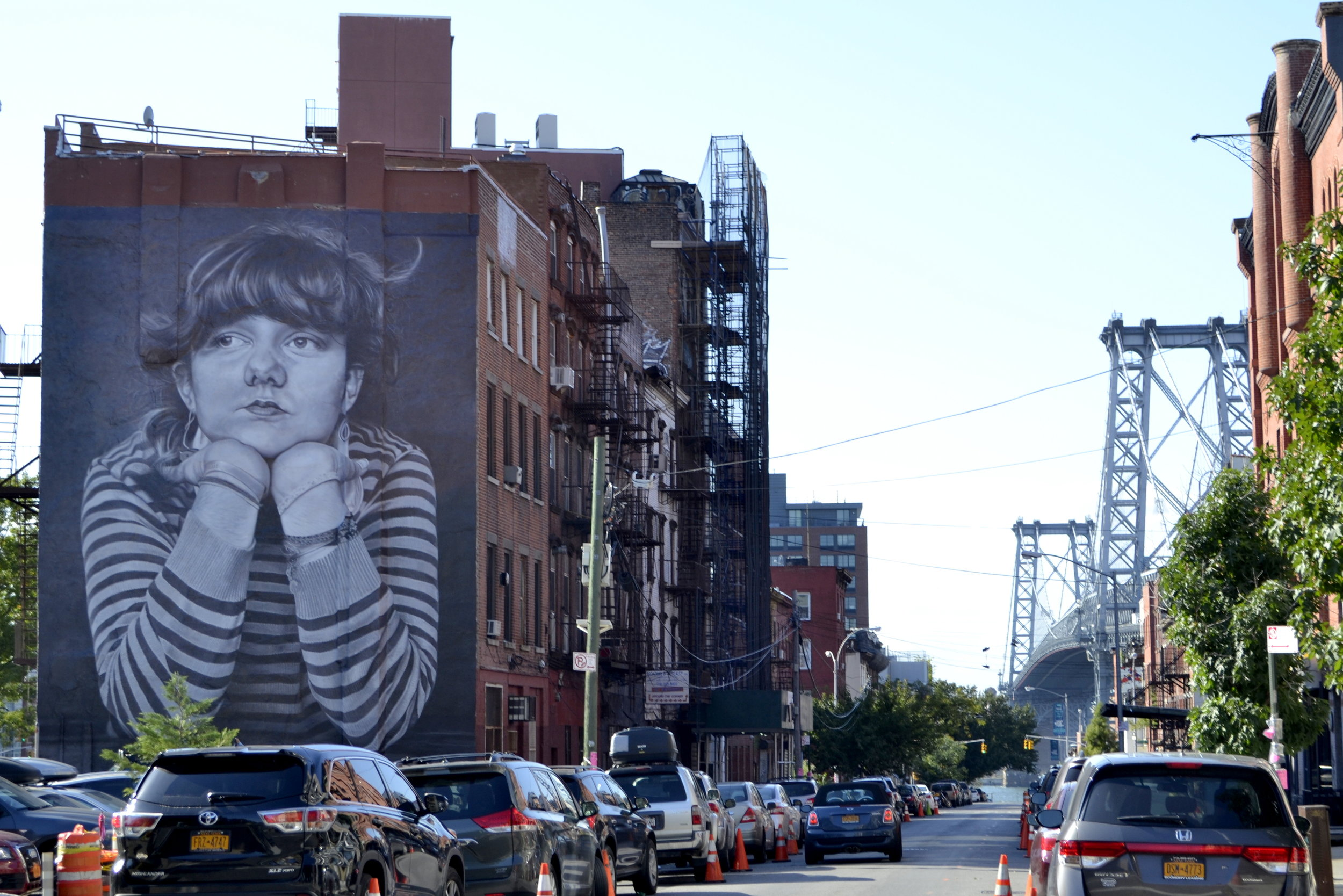 "Williamsburg, often called ""the new Soho"" as it is the hotspot to be for actors, artist and musicians."