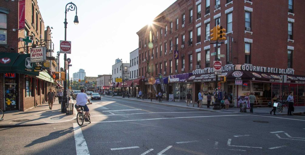 Greenpoint, with its pop-up galleries, indie bookshops, dive bars and historic storefronts.