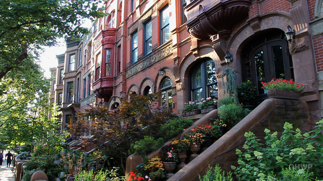 Park Slope, with its multi-million dollar row houses and brownstones and high-class bodegas. This is considered an ideal place to raise children because the neighborhood is safe and most of the public schools are excellent.