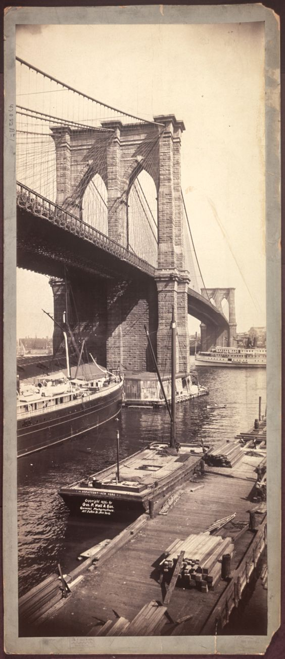Brooklyn Bridge, 1896