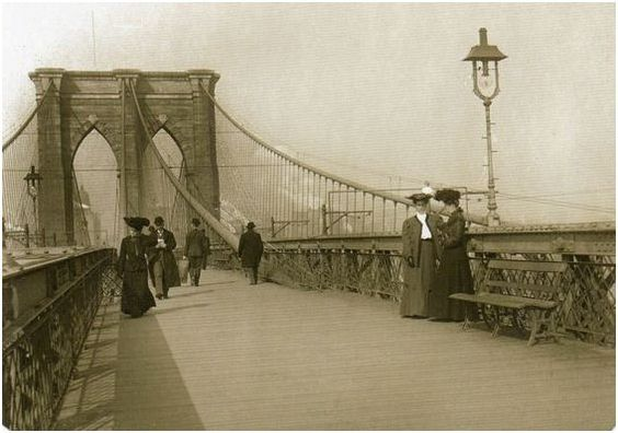 Brooklyn Bridge, 1890 ca.