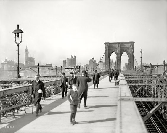 Brooklyn Bridge, 1907