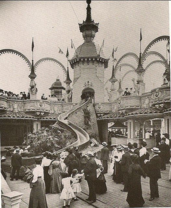 Coney Island, Brooklyn, 1900