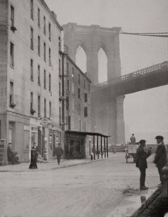 Brooklyn Bridge, 1921