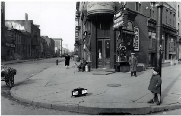 North 7th Street & Union Ave Williamsburg Brooklyn 1929
