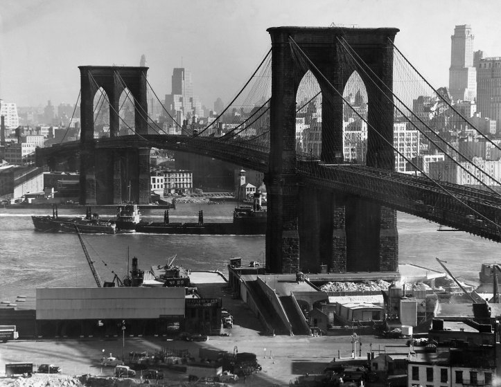 Brooklyn Bridge, 1948