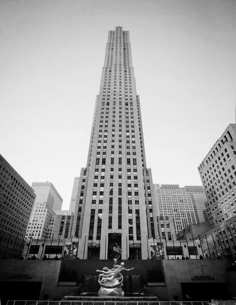 The Rockfeller Center, 1931 -