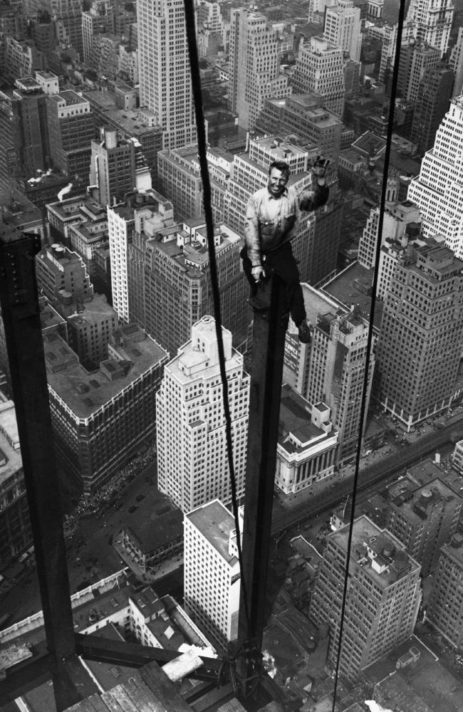 This reckless soul on the 88th floor of the new Empire State Building., 1930