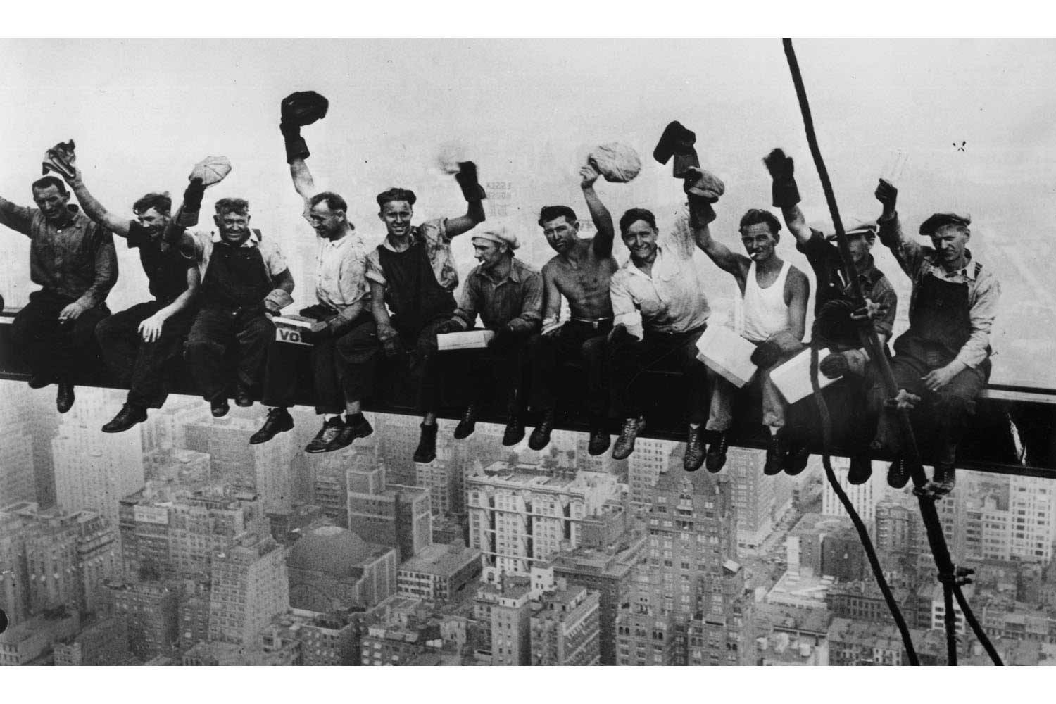 Rockeffeller Center construction workers, 1932