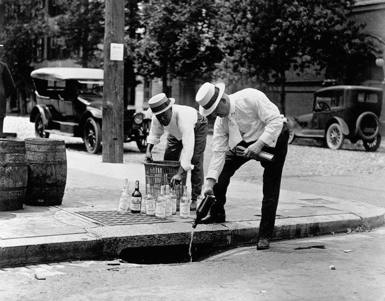 Prohibition in the 1920s: You better get rid of liquors man!