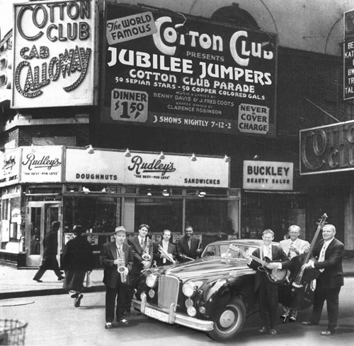 Cotton Club in Brodway, 1936