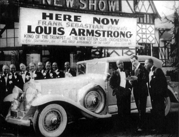 Louis Armstrong and his Sebastian New Cotton Club Orchestra, 1930s