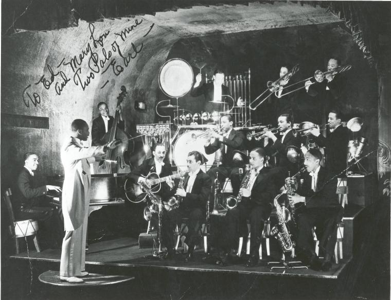Jimmy Lunceford and His Orchestra in 1934. They were the Cotton Club resident band betwen 1934 and 1937.