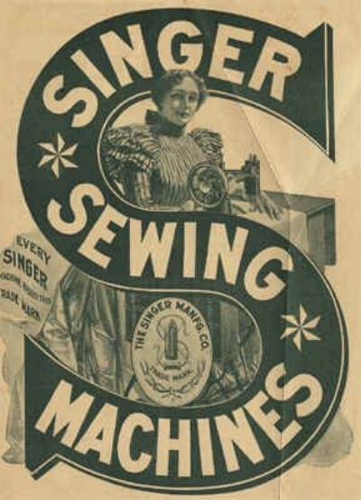 Singer Sewing Machines, early 1900