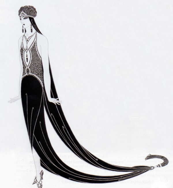 Costume designed for The Mystic , Erté, 1925.