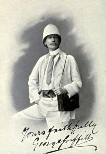 George Griffith (1857-1906),British science fiction writer and noted explorer who wrote during the late Victorian and Edwardian age