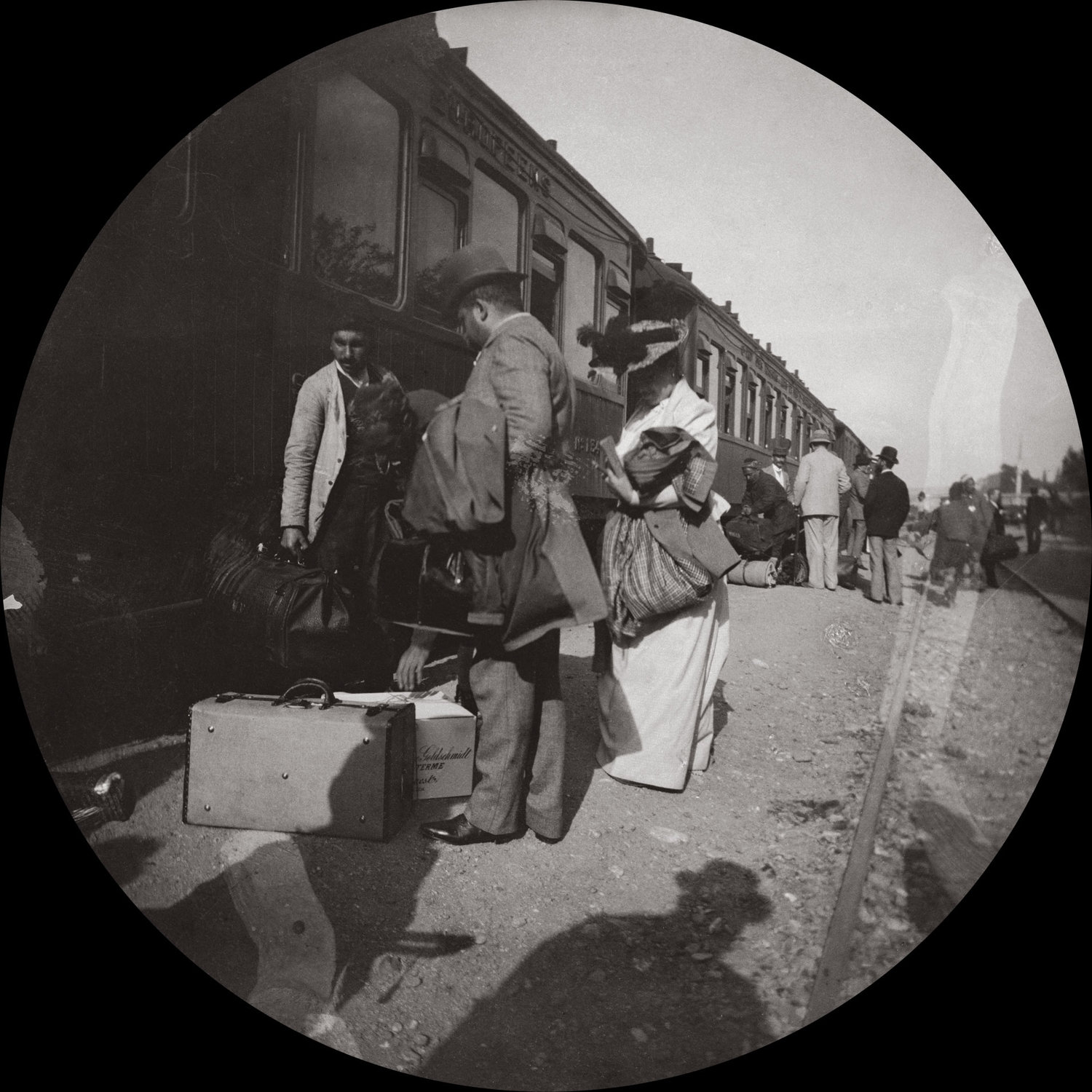 In 1890, photographer Paul Nadar took the oldest known photograph of the arrival of the Orient Express at its final destination.