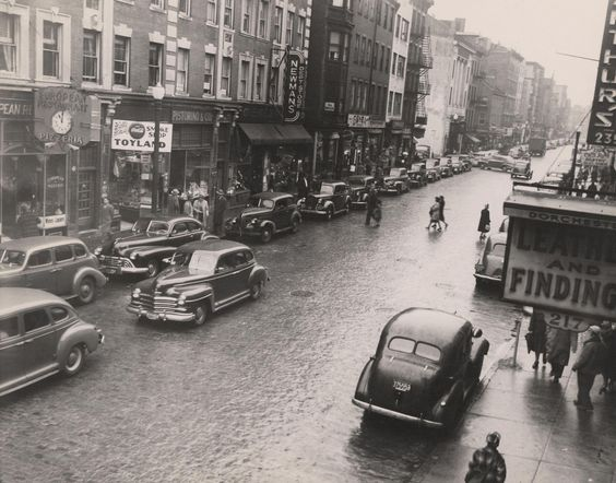 Boston North End, 1948 (City of Boston Archives)