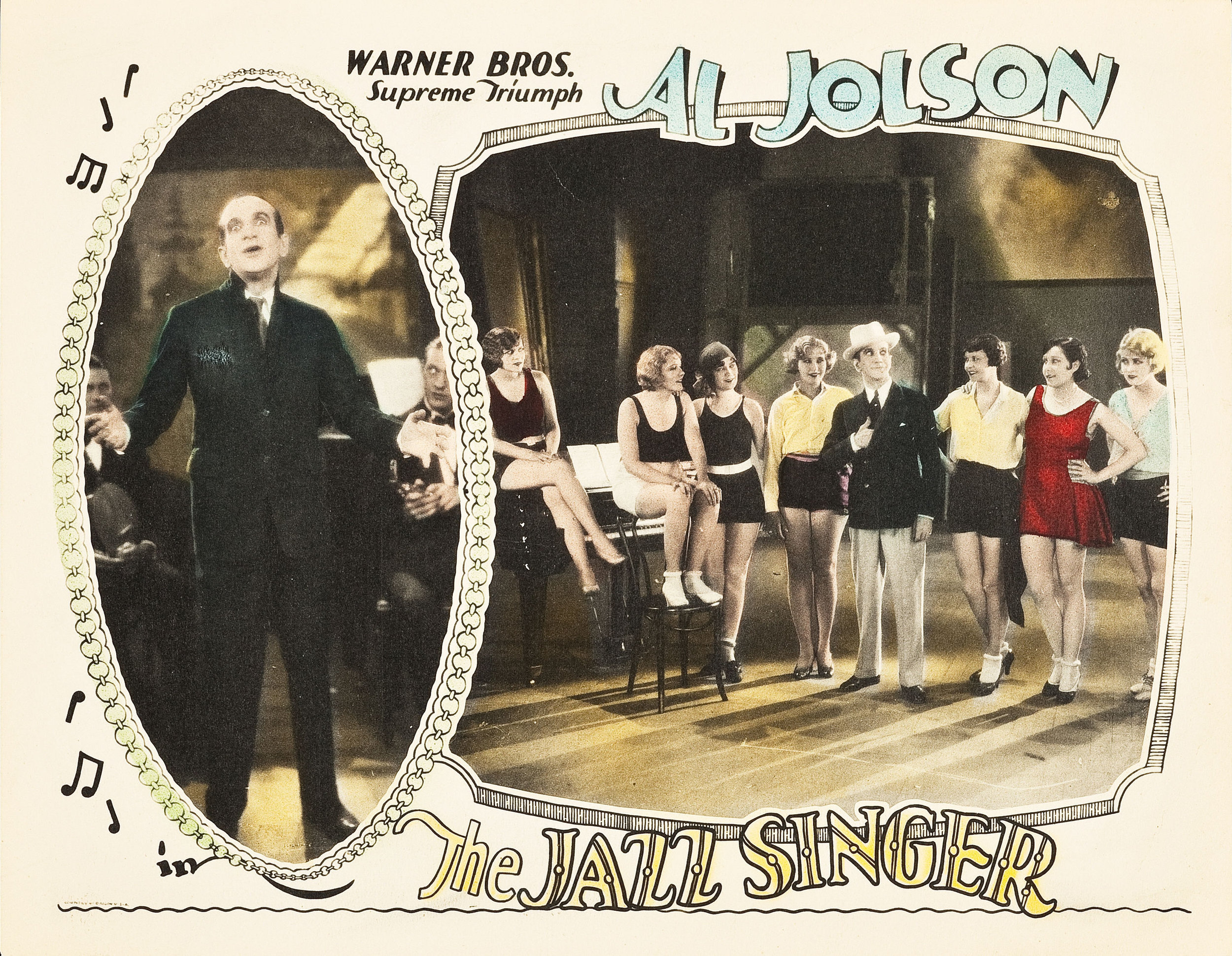 Al Jolson and May McAvoy, T  he Jazz Singer , 1927