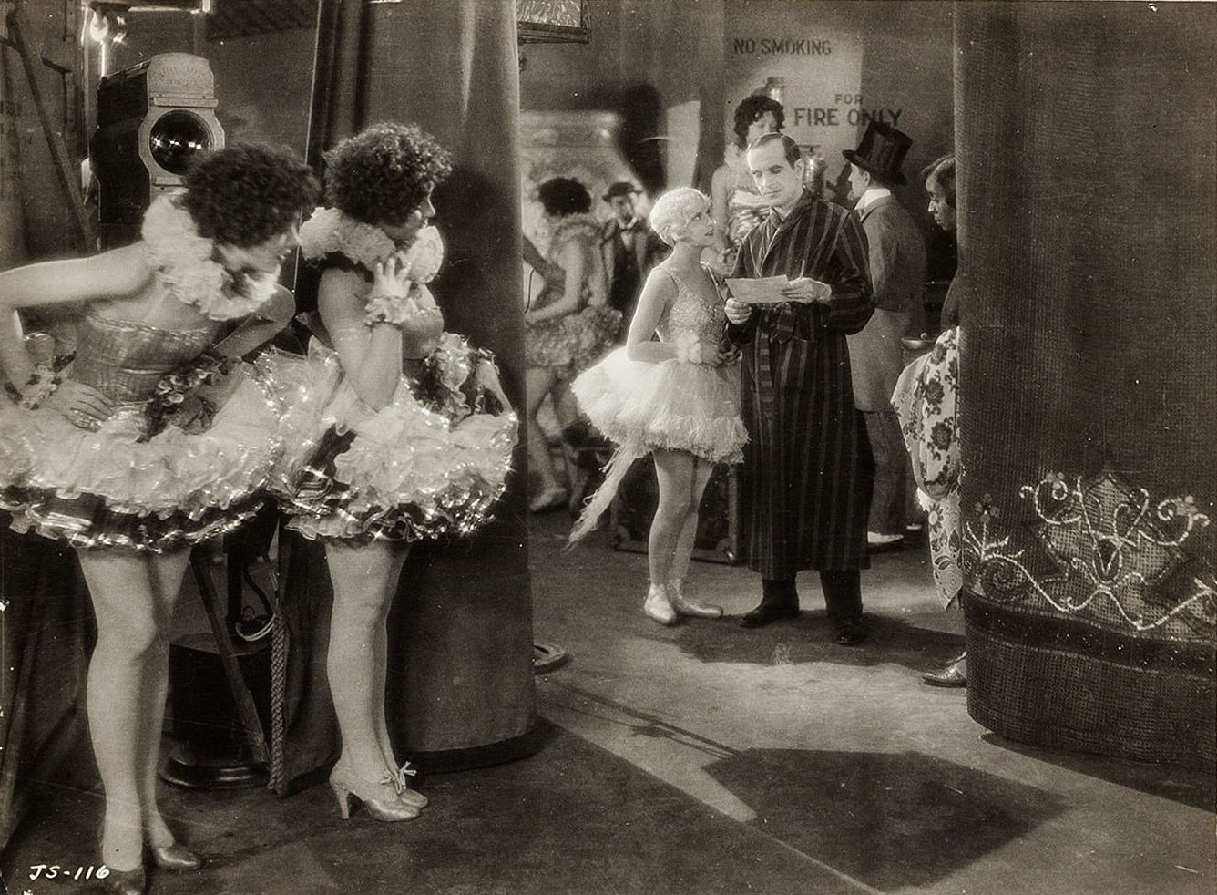 Myrna Loy, Audrey Ferris, May McAvoy and Al Jolson in  The Jazz Singer  , 1927