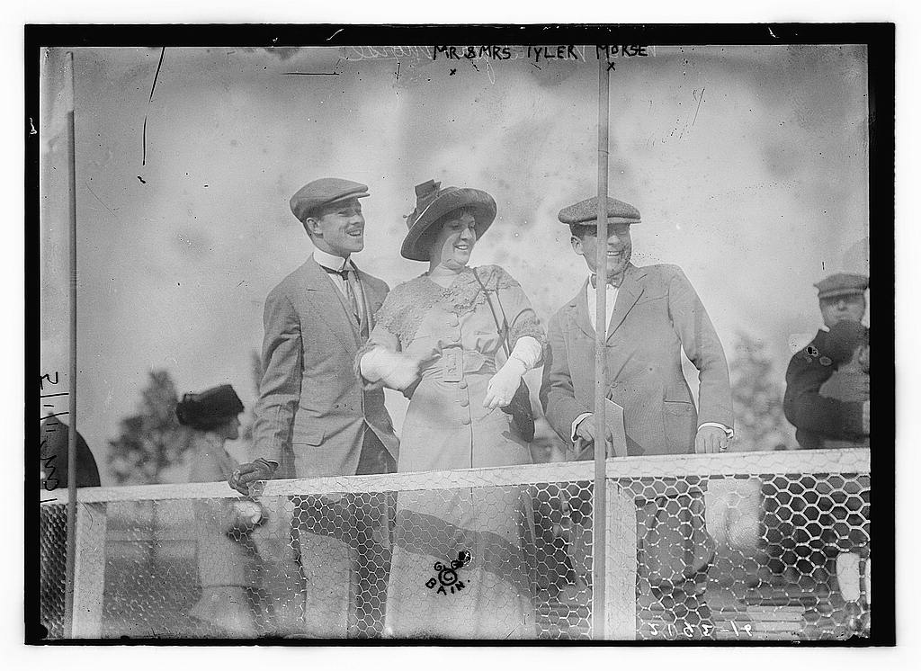 Mr. & Mrs. Tyler Morse, 1911 (The George Grantham Bain Collection - Library of Congress archive)