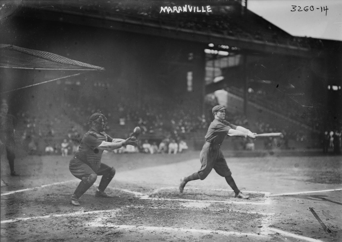 Hall of Fame second base and shortstop Rabbit Maranville, 1914 (The George Grantham Bain Collection - Library of Congress archive)