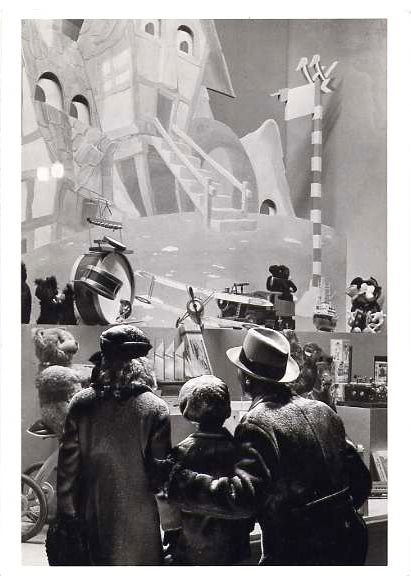 Christmas Window by Gordon Coster, 1940