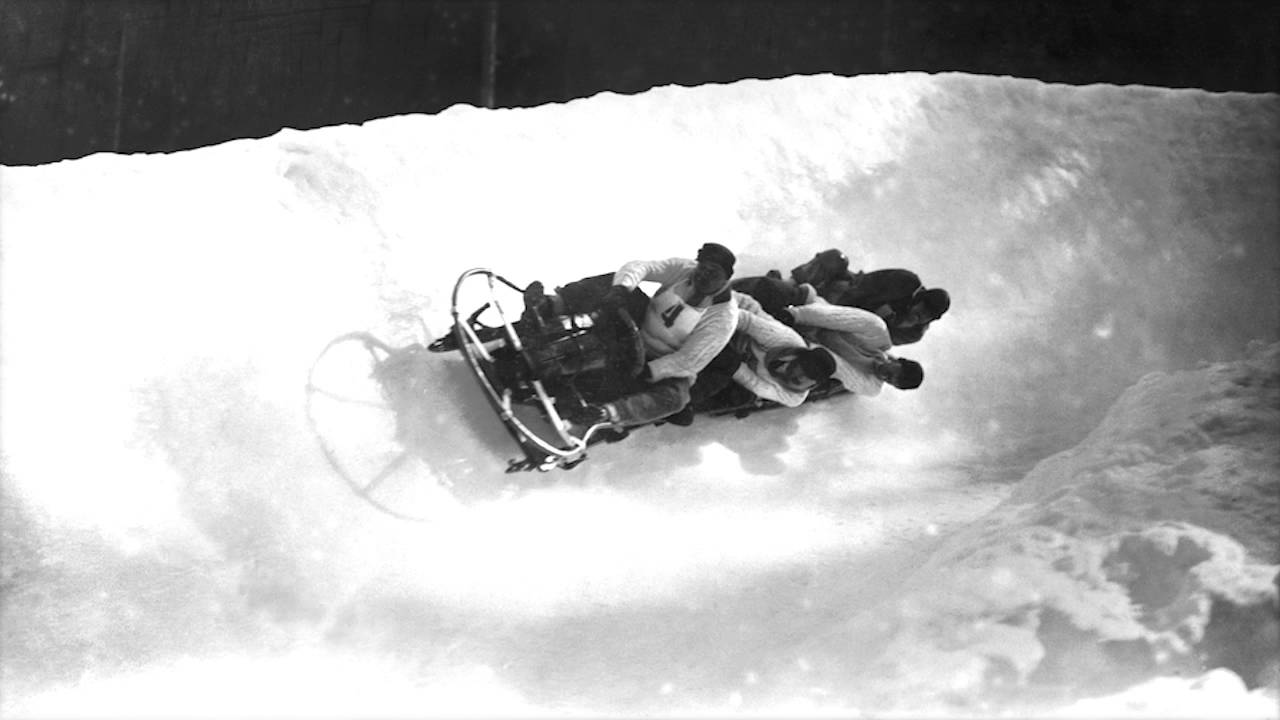 Bobsleigh at the Olympic Games in Chamonix, 1924