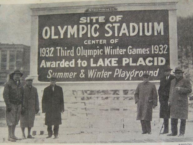 1932 Winter Games were held in Lake Placid, USA