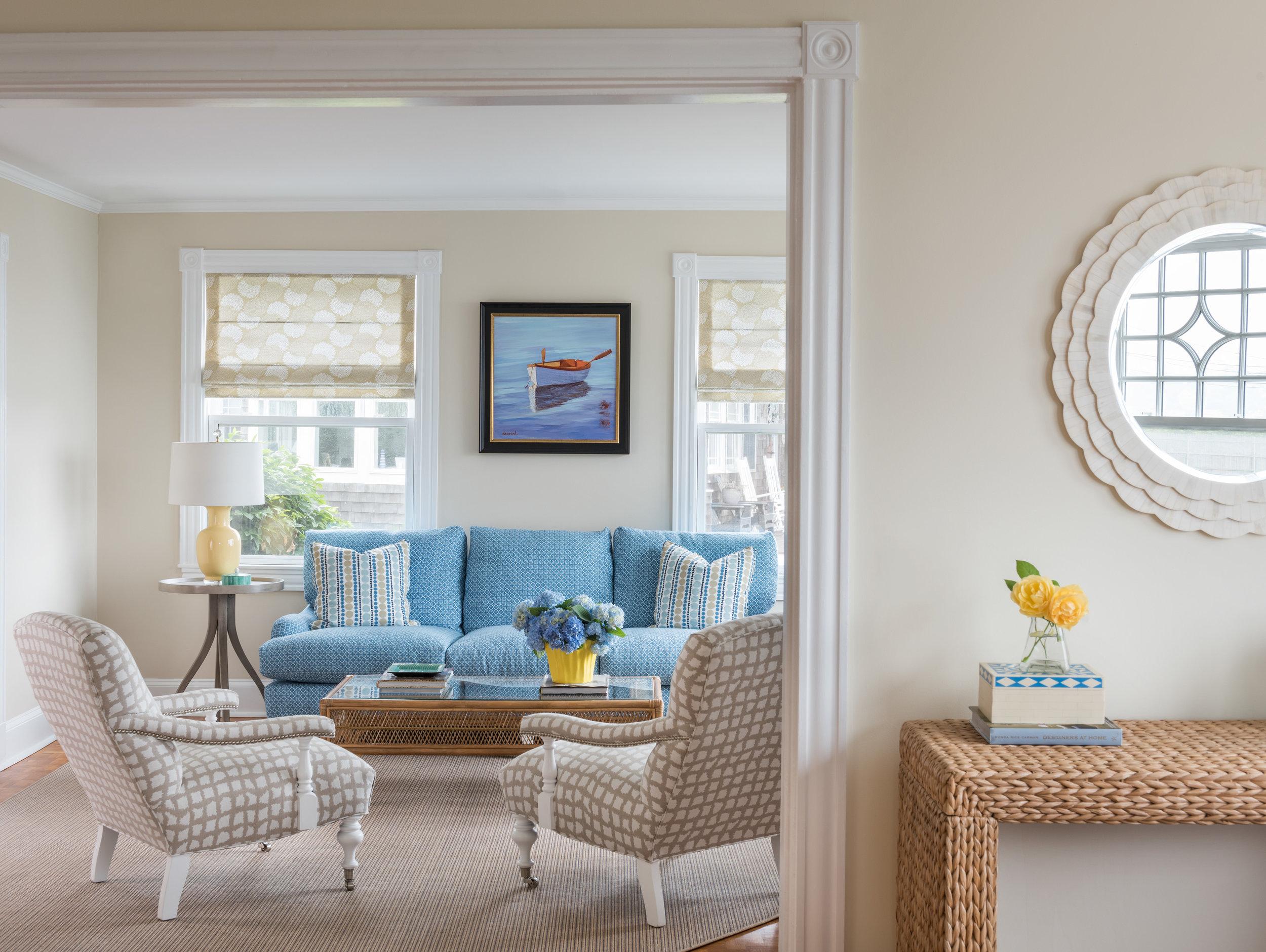 Easton's Beach, Newport, Rhode Island, Interior Design, Living Room Design, Entryway Design, Interior Designer,