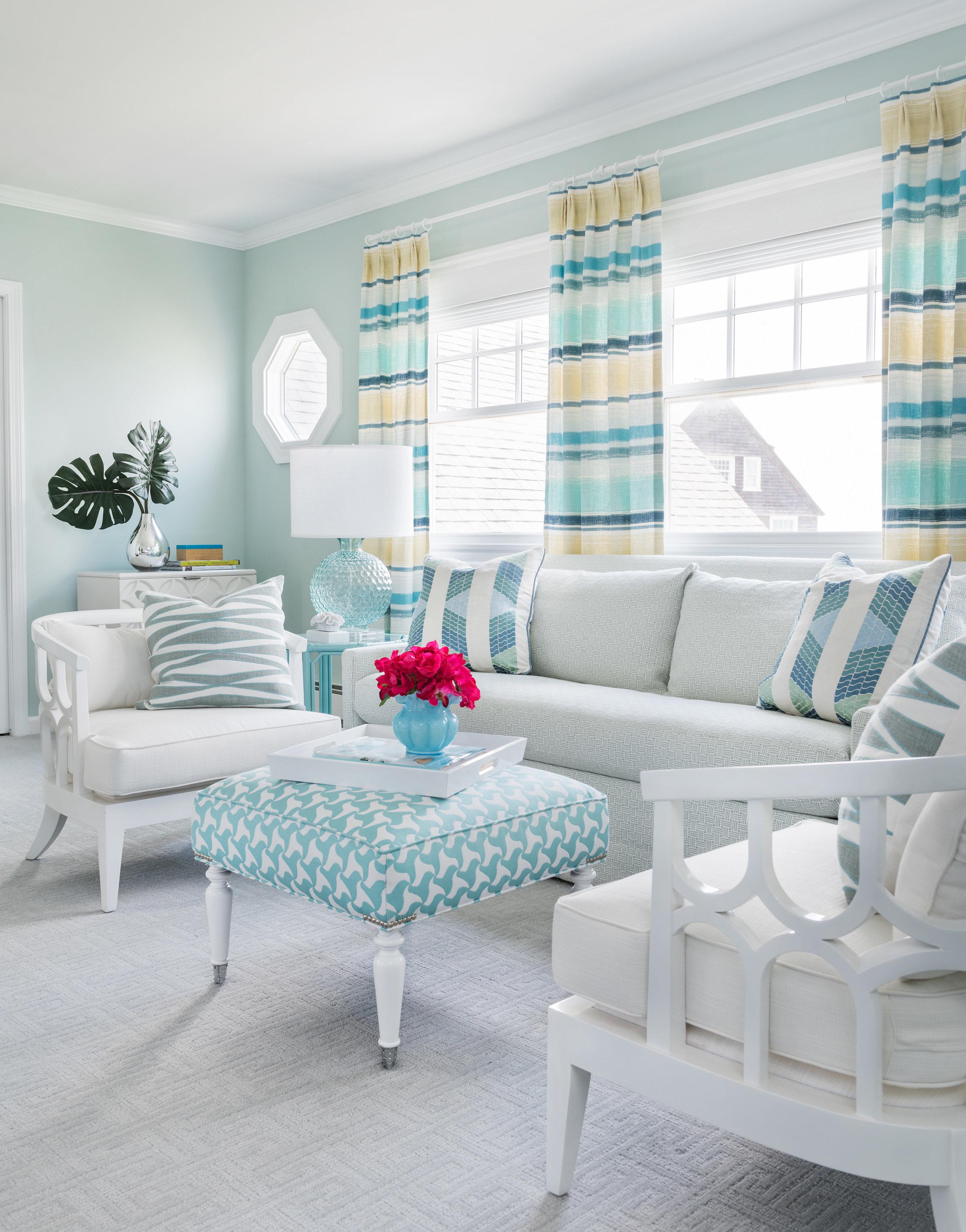 interior design, Easton's Beach, Newport, Rhode Island, beach decor, beach style, turquoise, aqua,
