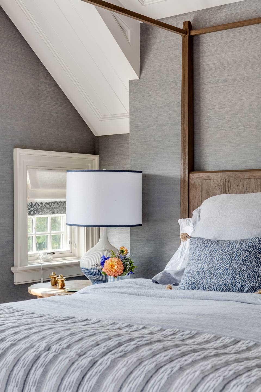 cape cod, cape house, four poster bed, wallpaper, texture