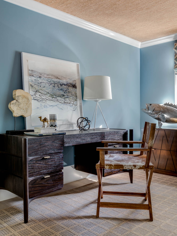 Newport, Rhode Island, Interior Design, desk, office design, home office