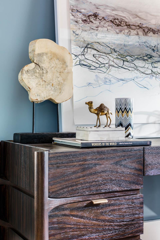 Newport, Rhode Island, Interior design, office desk, desk decor