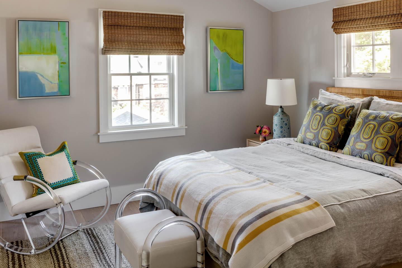 Newport, Rhode Island, bedroom, interior design