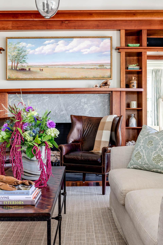 Living Room, Rhode Island, interior design, coffee table decor,