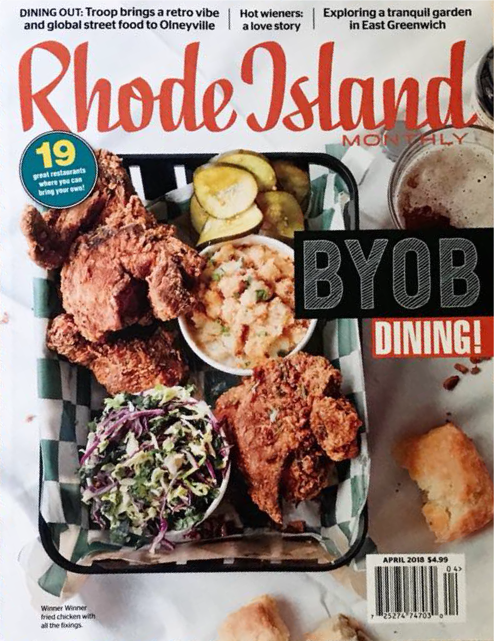 Rhode Island Monthly April 2018