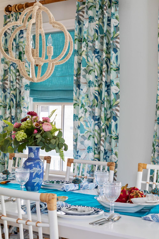Newport, Rhode Island, Beach House, beach house decor, interior design, interior designer, dining room, dining room decor