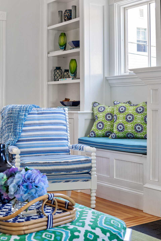 Newport, Rhode Island, Beach House, beach house decor, interior design, interior designer, living room decorating idea