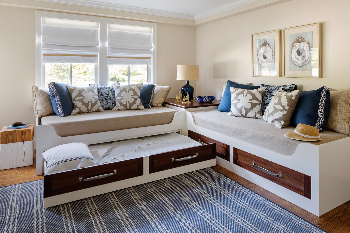 Rhode Island, interior design, interior designer, bedroom design, trundle bed, guest room