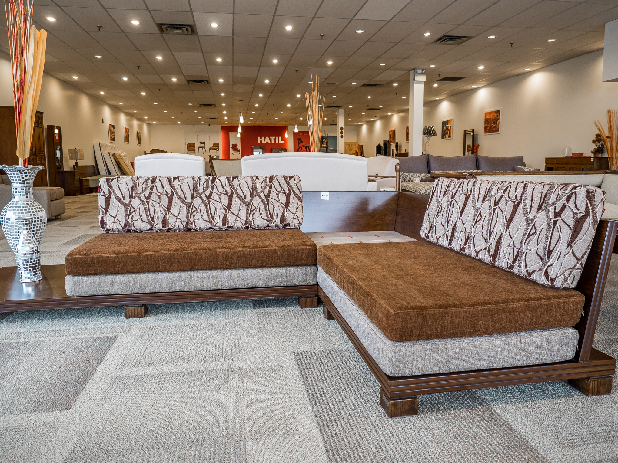 Model: 204-2-1-77. Sofa with 2+2 setup.