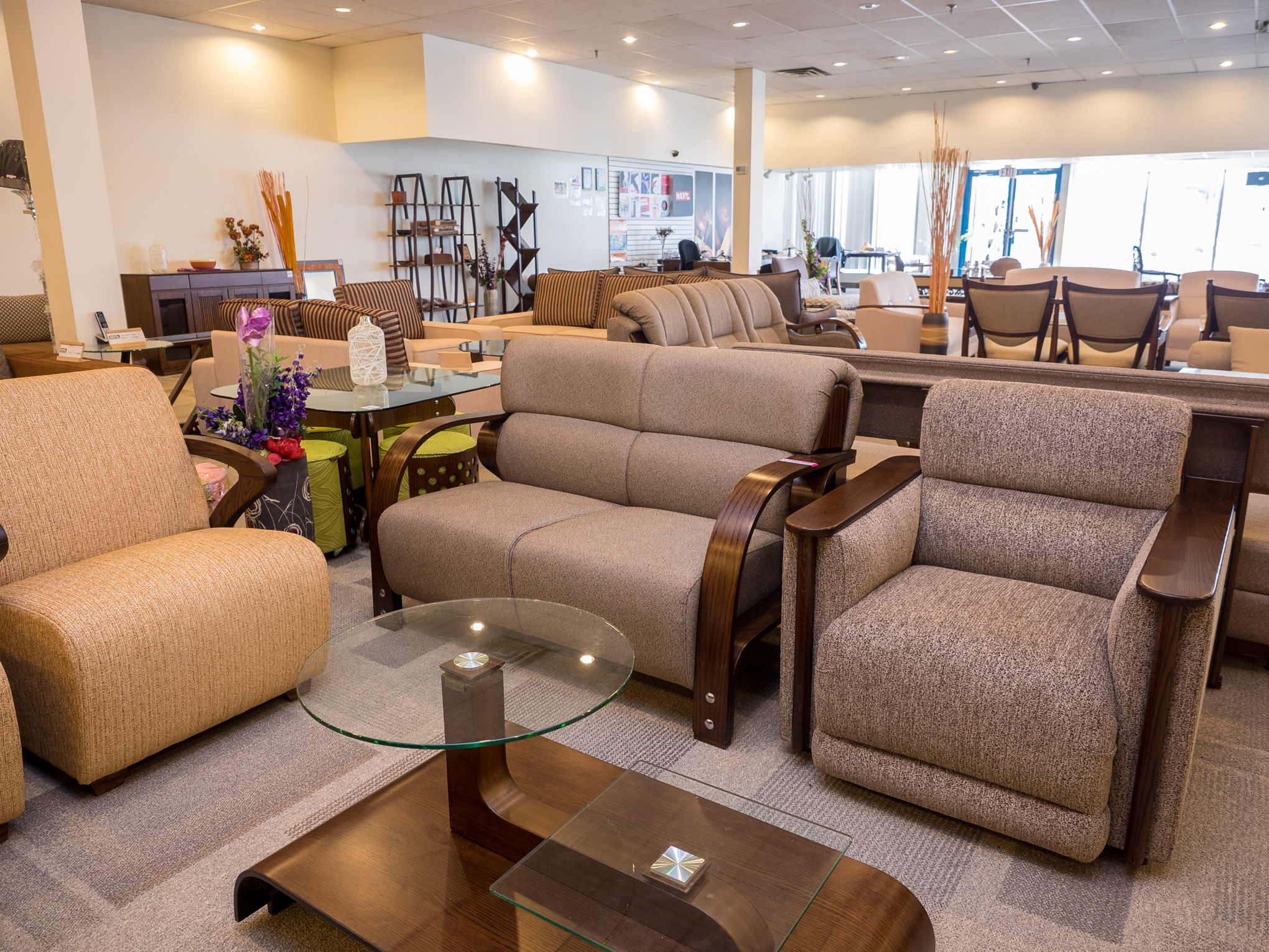 Assortment of our sofas