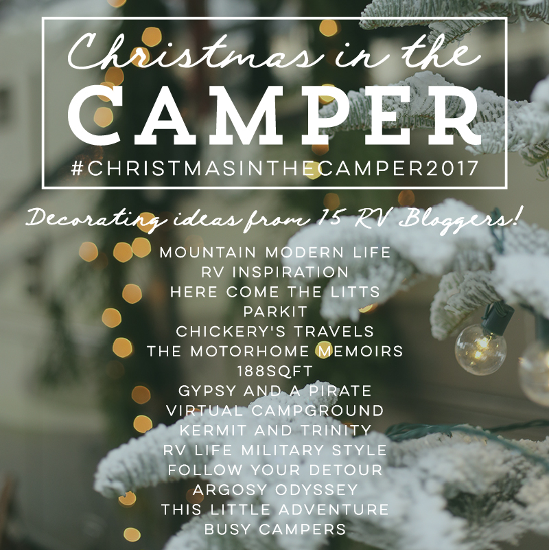 Christmas in the camper