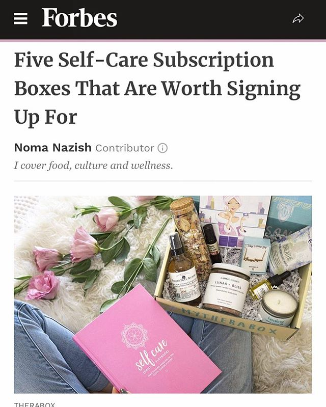 @cratejoy's self-care boxes are perfect for your cozy fall girls night in 🧖🏼‍♀️🛀🏼...check them out on @forbes! #mavnprclientnews #subscriptionboxes #selfcare