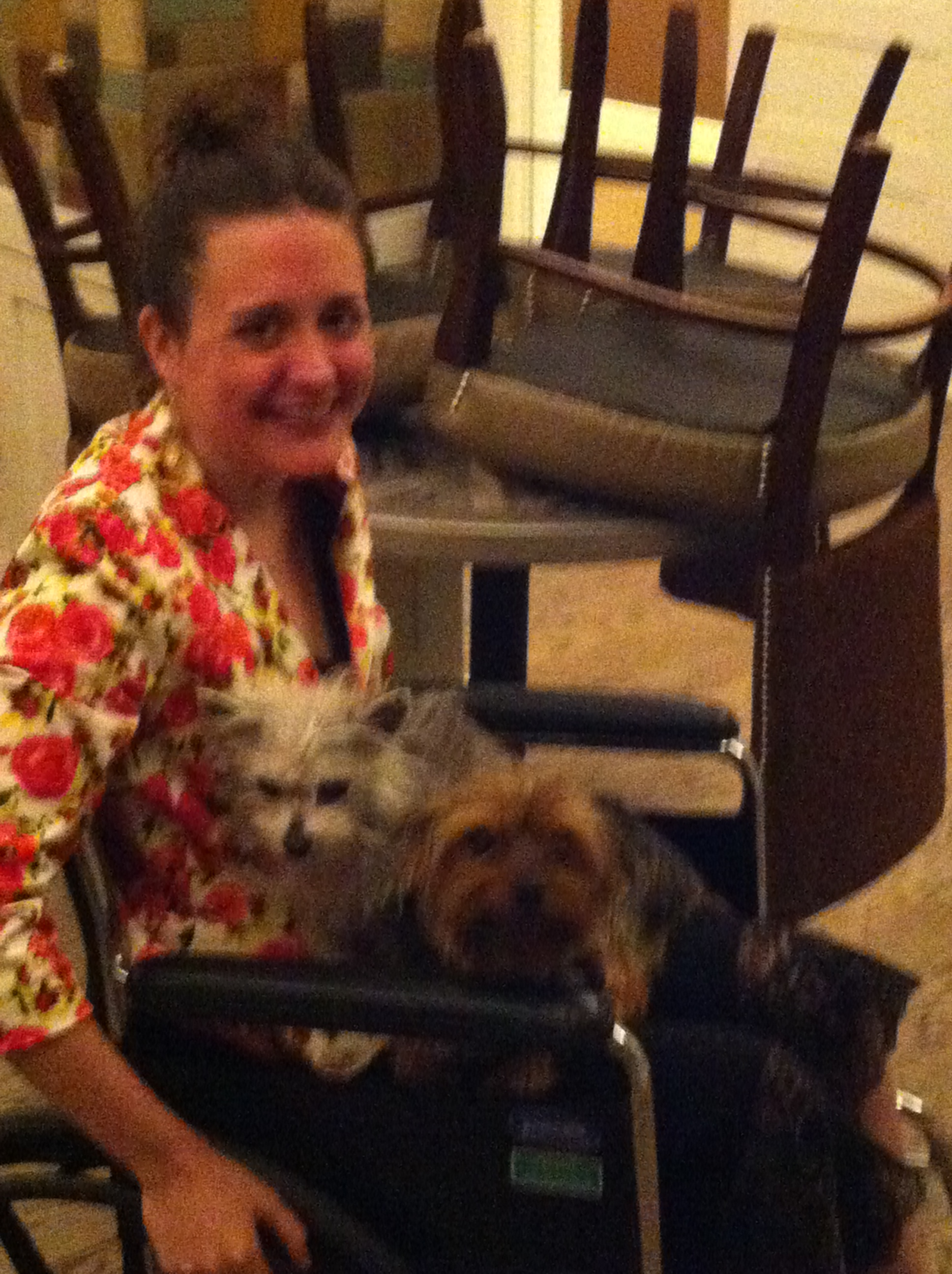 Most of the time, I was in a wheelchair -- walking only when absolutely necessary.