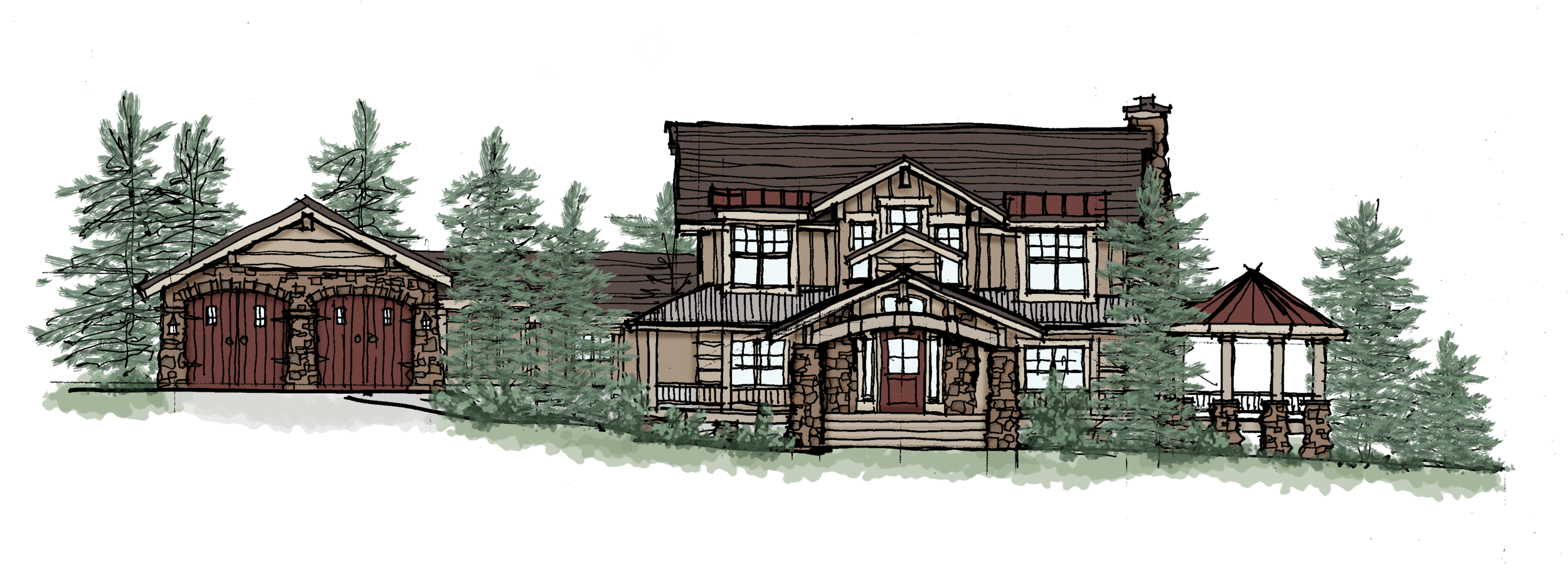Mountain Lake Front Elevation RMPC.png