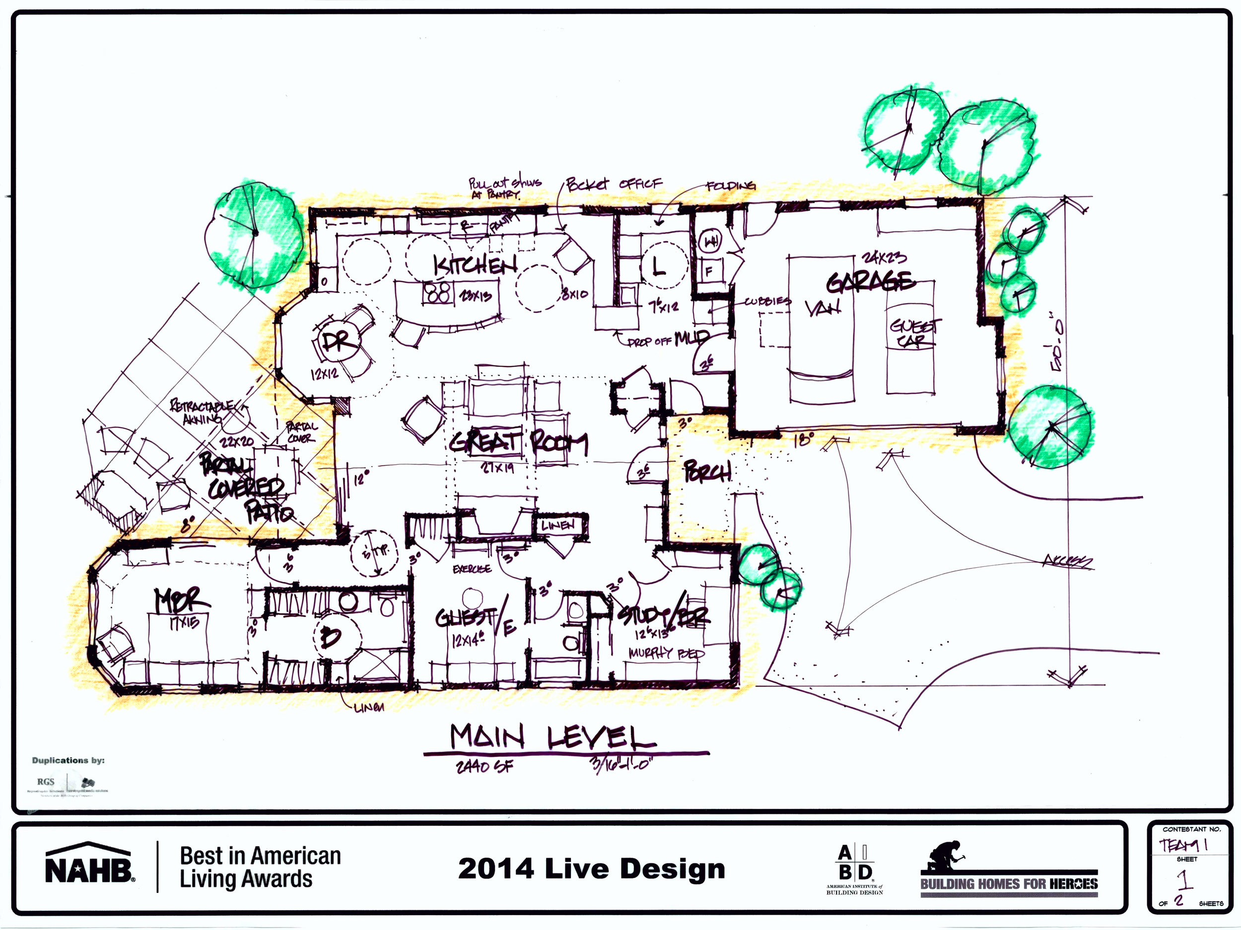 Rocky Mountain Plan Company BALA floor plan
