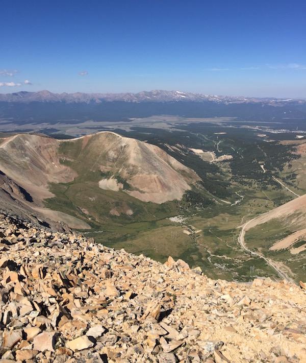 Hiking Mt. Sherman