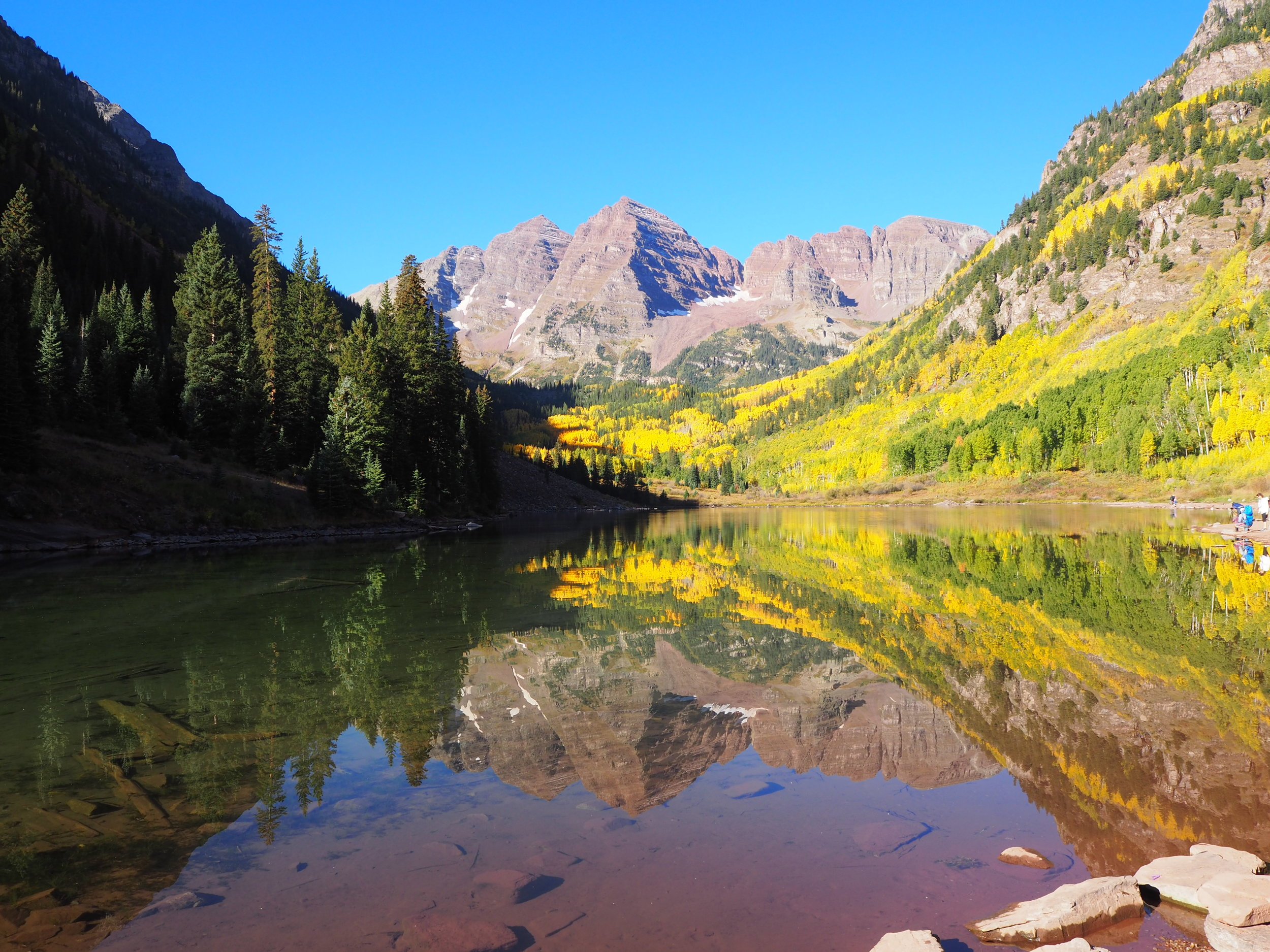 Maroon Bells: Photo by Jen Arensdorf