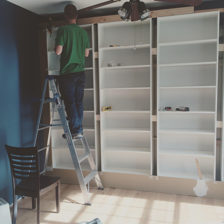 The carpenter at work...